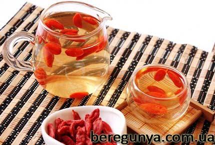 чай з ягід годжі