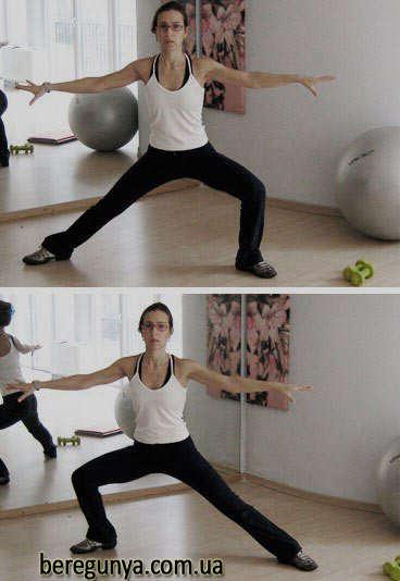 вправи для схуднення попи