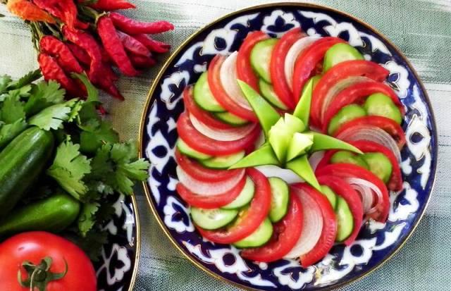 Дієта на салаті