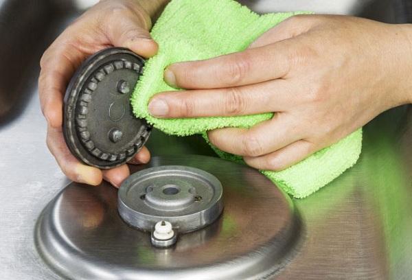 Как почистить конфорки в домашних условиях 247